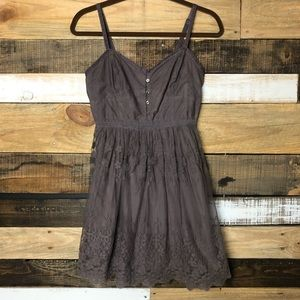 [American Eagle] boho Lace mini dress